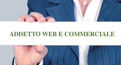Addetto area web marketing e commerciale