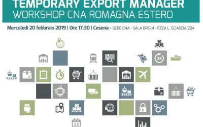 TEMPORARY EXPORT MANAGER WORKSHOP CNA ROMAGNA ESTERO